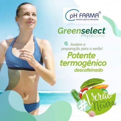 Greenselect Phytosome. Redução de até 15Kg em 90 dias.