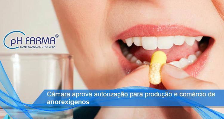 Câmara aprova autorização para produção e comércio de anorexígenos