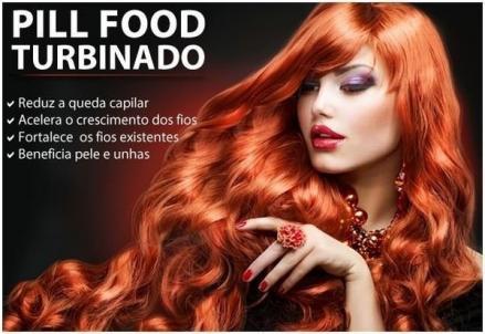 PILL FOOD TURBINADO 60 CAPS